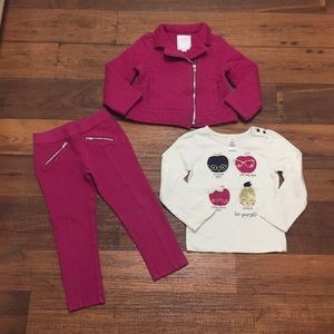 Gymboree Girl Outfit Size 4.Super Cute! 🍎👩🏻🏫